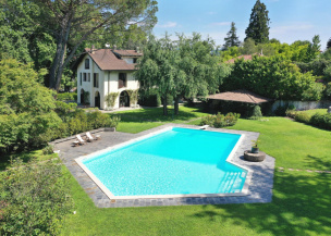 Villa Taranto in the Ticino National Park on Lake Maggiore